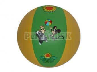 Lopta nafukovacia - Krtko, 61 cm