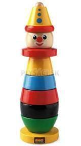 BRIO - Skladací klaun