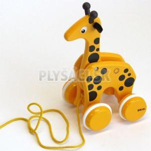 BRIO - Ťahacia žirafa na povrázku