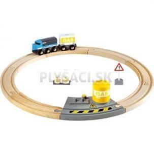 BRIO - Vláčikodráha kruhová, nákladný vlak