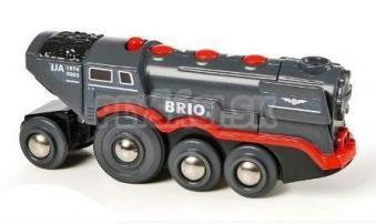 BRIO - Elektrická veľká parná lokomotíva