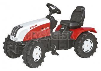 Rolly Toys - Šliapací traktor Steyr CVT 170 - červenobiely