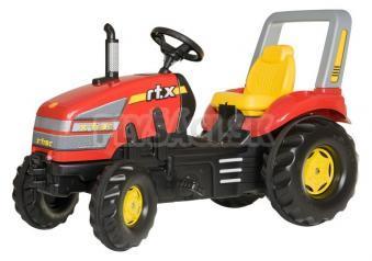 Rolly Toys - Šliapací traktor X-Trac - červený
