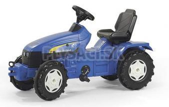 Rolly Toys - Šliapací traktor Holland TS 110-modrý