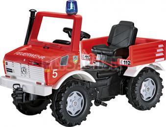 """Rolly Toys - Šliapací traktor Unimog """"Hasiči"""""""