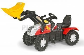 Rolly Toys - Šliapací traktor Farm Trac Steyr s nakladačom