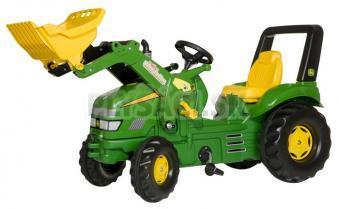 Rolly Toys - Šliapací traktor X-Trac John Deere s nakladačom