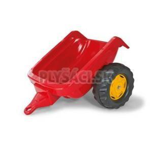 Rolly Toys - Vlečka za traktor 1osá - červená