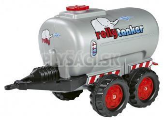 Rolly Toys - Rolly tanker 2osý - strieborný