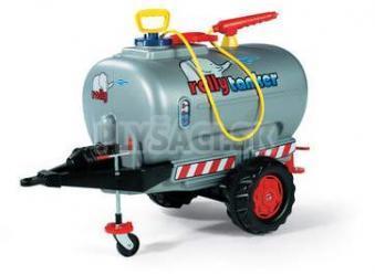 Rolly Toys - Rolly tanker s pumpou a striekačkou 1osý - strieborný