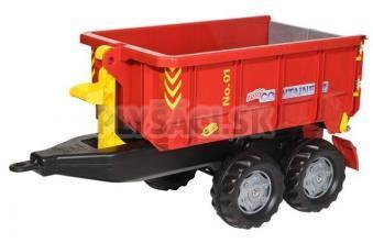 Rolly Toys - Vlečka za traktor vyklápacia červená