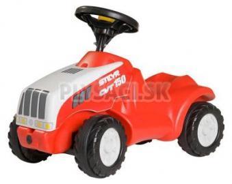 Rolly Toys - Odrážadlo Steyr CVT 150 traktor červený