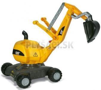 Rolly Toys - Rolly Digger CAT s kolieskami žltý