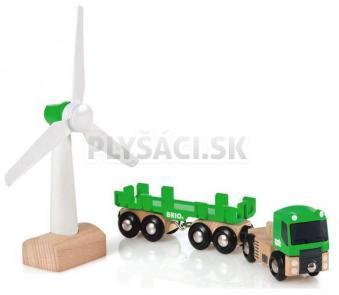 BRIO - Veterný mlyn a kamión