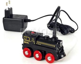 BRIO - Elektrická mašinka s nabíjačkou