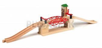 BRIO - Železničný most s výťahom