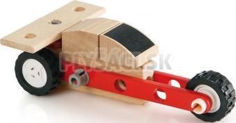 BRIO - Builder - mini stavebnica auta formula