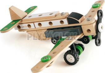 BRIO - Builder - stavebnica lietadlo