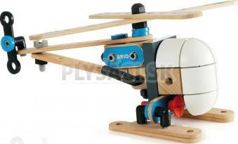 BRIO - Builder - stavebnica vrtuľník