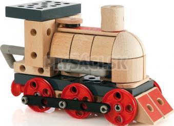 BRIO - Builder - stavebnica lokomotíva