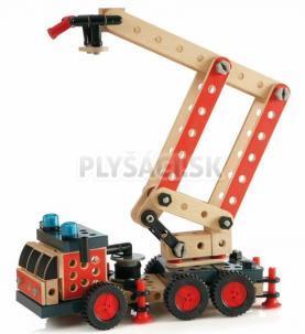 BRIO - Builder - stavebnica hasičský žeriav