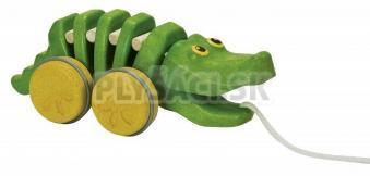 Plan Toys EKO - tancujúci aligátor