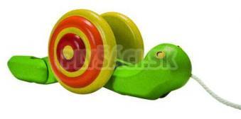 Plan Toys EKO - ťahací slimák