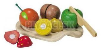 Plan Toys EKO - krájanie, ovocie na doske