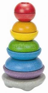 Plan Toys EKO - navliekacie misky na tyčku
