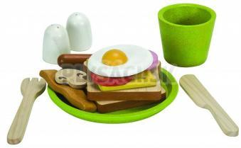 Plan Toys EKO - raňajkové menu