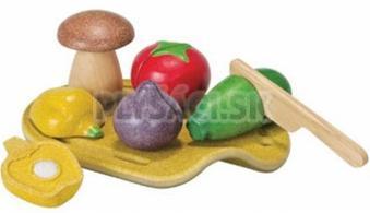 Plan Toys EKO - krájanie, zelenina na doske