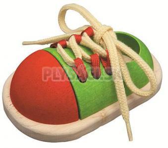 Plan Toys - Šnurovacia topánka