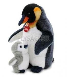 Trudi Classic - Tučniak s mláďaťom, 33 cm