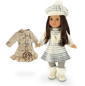 Lovely Trudimia - Bábika Laura v sete s hrebeňom a kabátikom, 38 cm