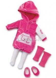 Lovely Trudimia - Oblečenie ružová športová súprava 38 cm