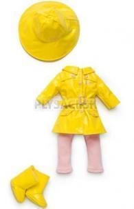 Lovely Trudimia - Oblečenie žlte do dažďa 38 cm