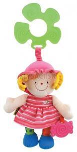 K's Kids - Úchyt na kočík - veselá bábika Julia