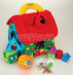 K's Kids - Veľký farebný domček PATRICK pre rozlišovanie geom. tvarov