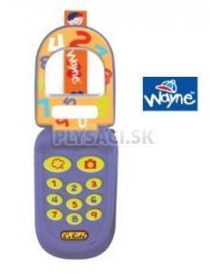 "K's Kids - Telefón ""véčko"" modrý Wayne"