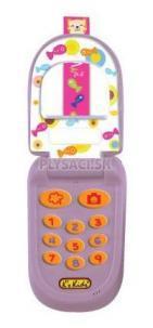 "K's Kids - Telefón ""véčko"" fialový Mimi"