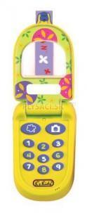 "K's Kids - Telefón ""véčko"" žltý Ivan"