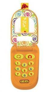 """K's Kids - Telefón """"véčko"""" oranžový Patrick"""