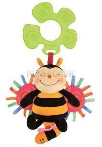 K's Kids - Úchyt na kočík - včielka naťahovacia, bzučiaca