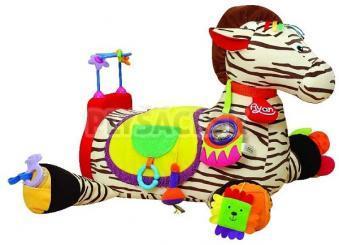 K's Kids - Veľká zebra Ryan s 28 funkciami zábavy