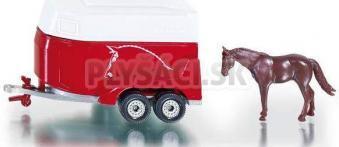 SIKU Blister - Príves na prepravu koní