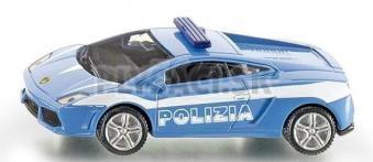 SIKU Blister - Auto talianskej polície Lamborghini modré