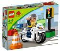 LEGO Duplo - Policajná motorka