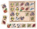 Woody - Domino s detskými obrázkami, Reny design