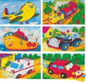 "Woody - Kocky 3x5 ""Veselé autíčko"""
