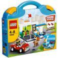LEGO kocky - Modrý kufrík